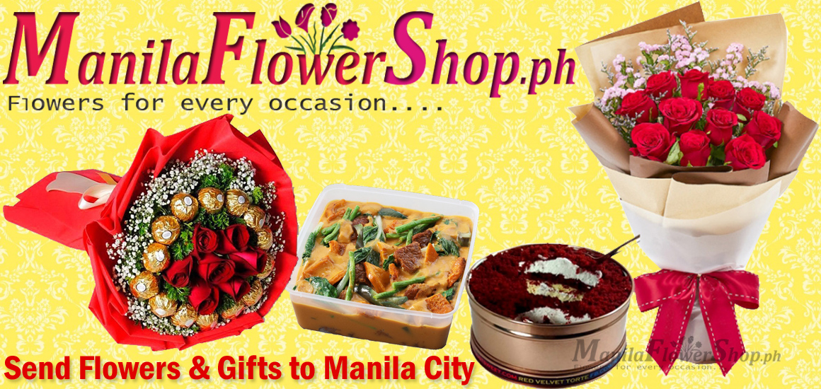 buy flowers and gifts in manila city