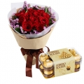 Send Roses with Chocolate To Manila