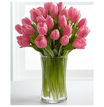 12 Tulips In A Vase Send to Manila Philippines
