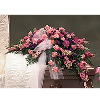 Funeral Casket Flowers Spray Arrangement Send to Manila Philippines