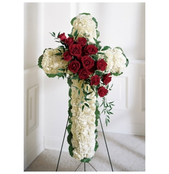 Floral Cross Send to Manila Philippines
