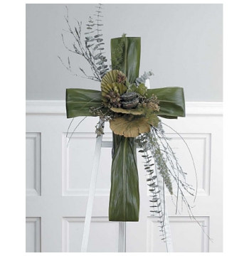 Funeral Green Cross Easel Send to Manila Philippines