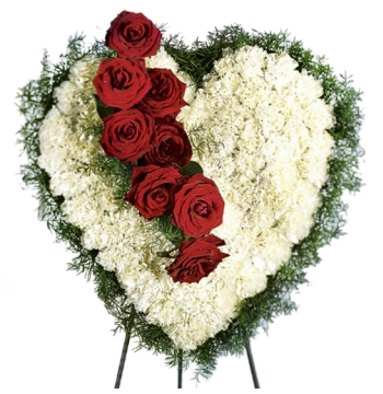 Carnations,Greenery and Roses Send to Manila Philippines