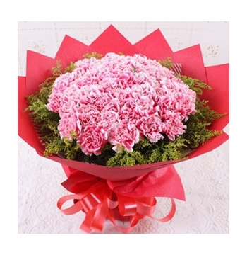 36 Pink Carnations Hand bouquet Send to Manila Philippines